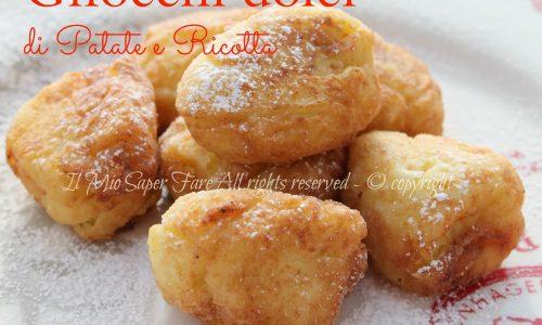 Gnocchi dolci di patate e ricotta