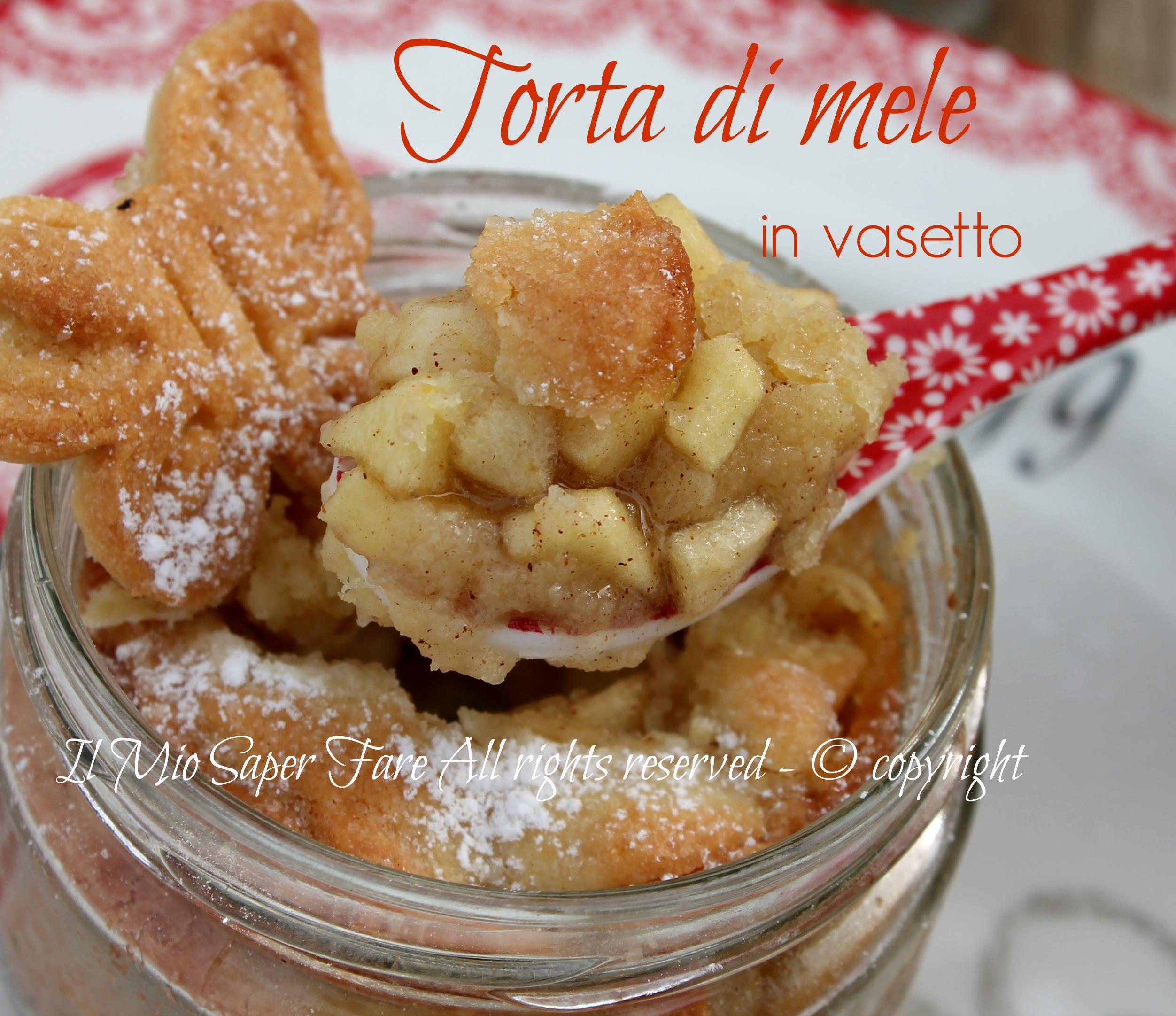 Famoso Torta di mele nei vasetti di vetro   apple pie DN14