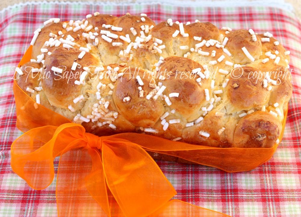 Dolce facile da colazione : Pan Brioche all'arancia il mio saper fare