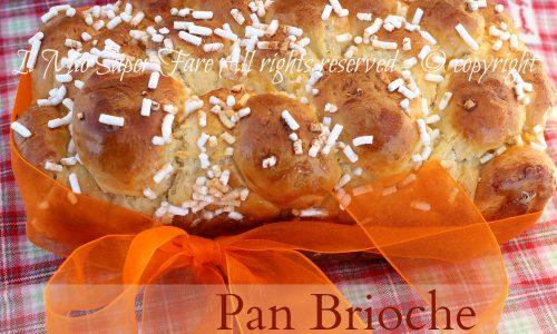 Dolce facile da colazione : Pan Brioche all'arancia