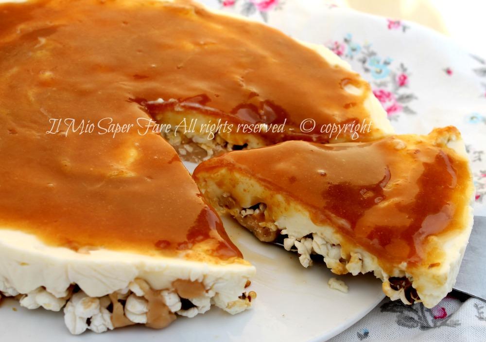 Cheesecake di pop corn ricette benedetta parodi for Ricette di benedetta parodi