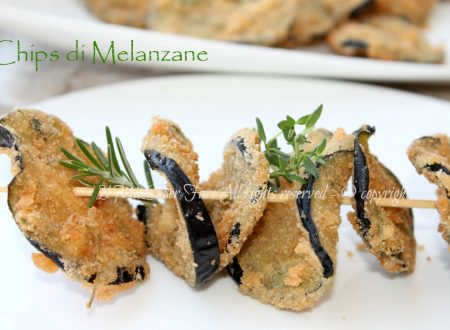 Chips melanzane croccanti e gustose