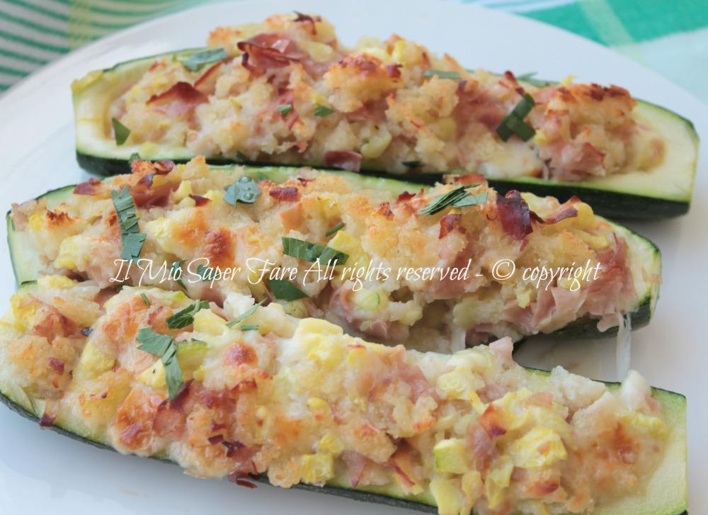 Zucchine Ripiene Con Mollica Di Pane Raffermo