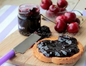 Marmellata di ciliegie confettura golosa ricetta il mio saper fare