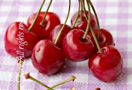 Tisana piccioli di ciliegie drenante e depurativa