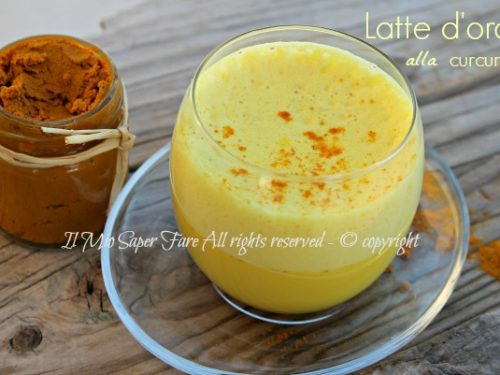 Latte oro curcuma benefici