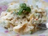 Pasta panna zucchine e fiori di zucca ricetta il mio saper fare