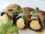 Cannoli di melanzane ripieni ricetta leggera il mio saper fare