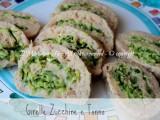 Girelle zucchine tonno e pancarrè ricetta il mio saper fare