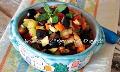 Caponata di verdure miste ricetta facile