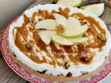 Cheesecake mele e noci dolce senza cottura il mio saper fare