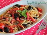 Spaghetti alla puttanesca ricetta il mio saper fare