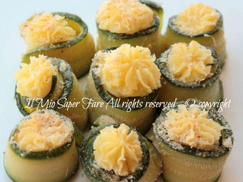 Bocconcini zucchine ripieni