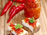 Crema peperoncini piccanti conserva facile ricetta il mio saper fare