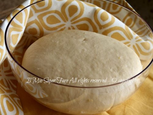 Pan brioche allo yogurt senza burro impasto base
