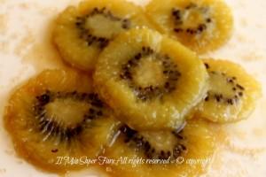 Kiwi caramellati ricetta facile