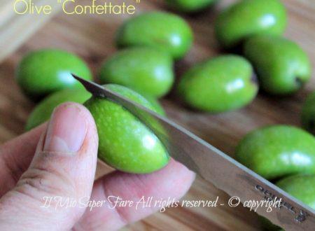 Olive confettate o da confetto ricetta Sarda