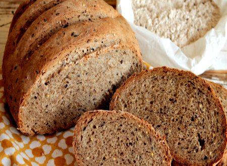 Pane cereali fatto in casa