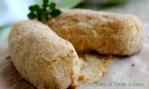 Crocchette patate al forno impasto senza uova