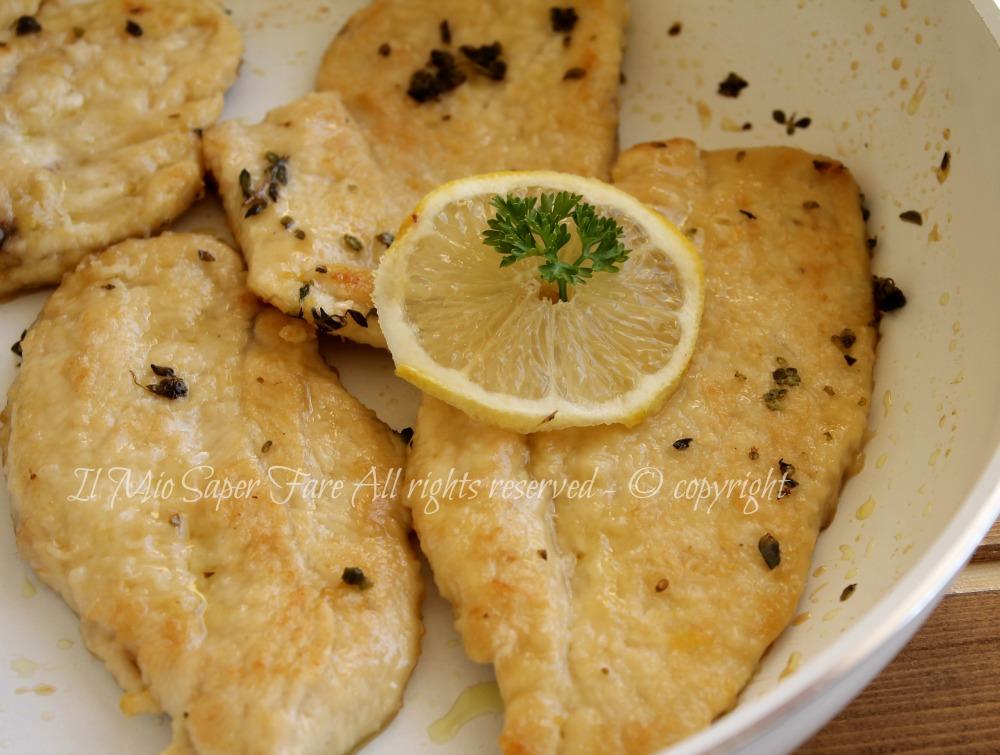 recipe: scaloppine di pollo al limone [5]