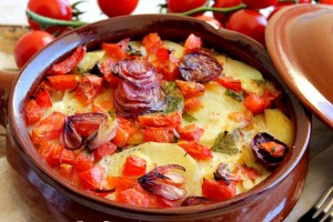 Tiella foggiana ricetta con baccalà