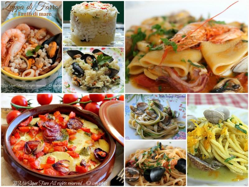 Primi piatti vigilia natale a base di pesce for Primi piatti particolari