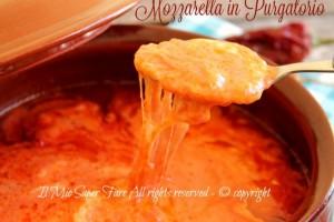 Mozzarella in purgatorio ricetta mozzarella al sugo
