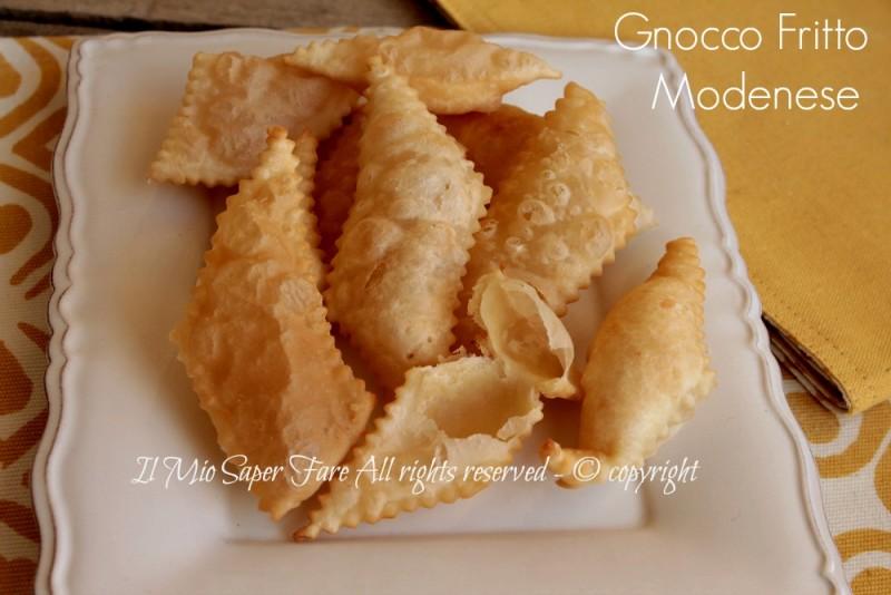 Gnocco fritto modenese ricetta con strutto