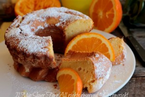 Ciambella arancia e zenzero golosa e facile