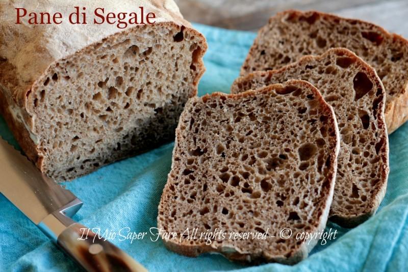 Pane di segale - Pane nero fatto in casa ricette Bonci il mio saper fare