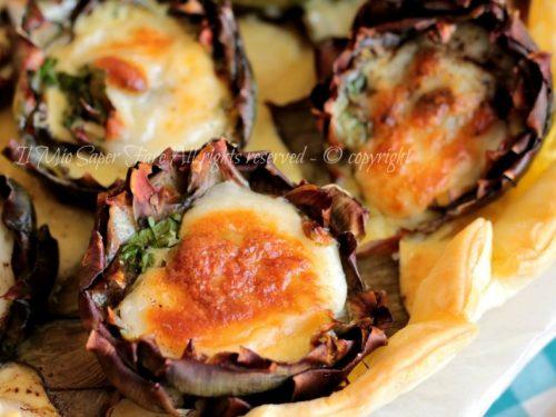 Torta salata carciofi e ricotta… la cena è salva!