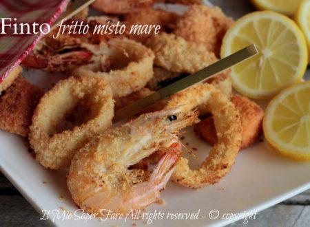 Finto pesce fritto al forno misto mare leggero
