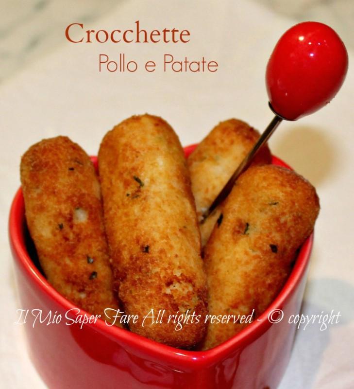 Crocchette pollo e patate ricetta facile il mio saper fare