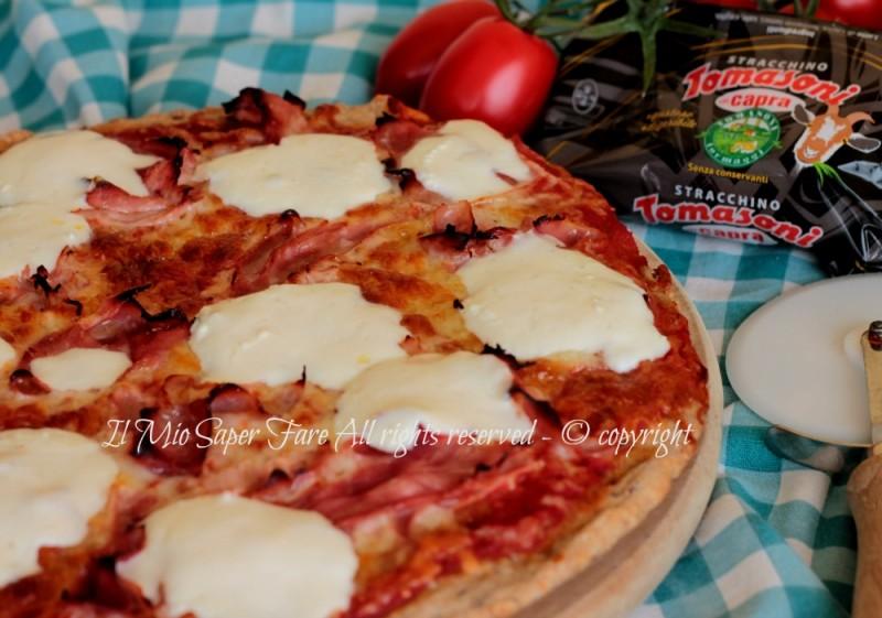 Pizza ai cereali impasto pizza con farina multicereali ricetta il mio saper fare