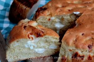 Pan formaggio pan brioche al formaggio