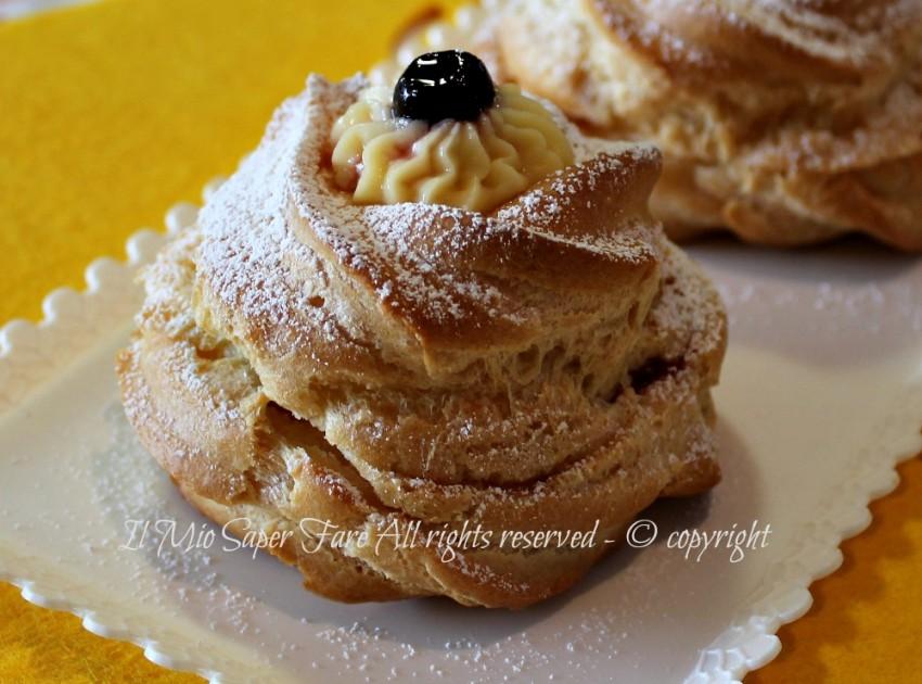 Ricetta Zeppole A Forno.Zeppole Al Forno Ricetta Bimby Dolce Di San Giuseppe