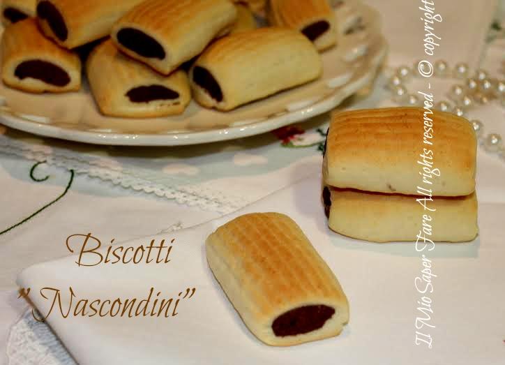 Biscotti nascondini fatti in casa ricetta facile