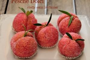 Pesche dolci alla crema ricetta senza lievitazione