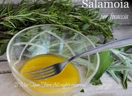 Salamoia per focaccia elastica e gustosa