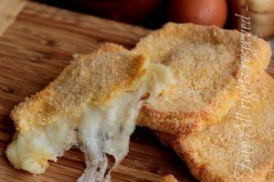Mozzarella in carrozza al forno leggera e gustosa