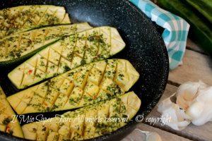 Zucchine a scacchiera ricetta zucchine al forno