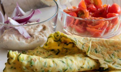 Ricetta pastella crepes con zucchine nel composto
