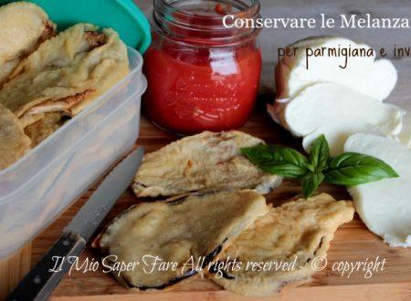 Conservare le melanzane fritte per parmigiana