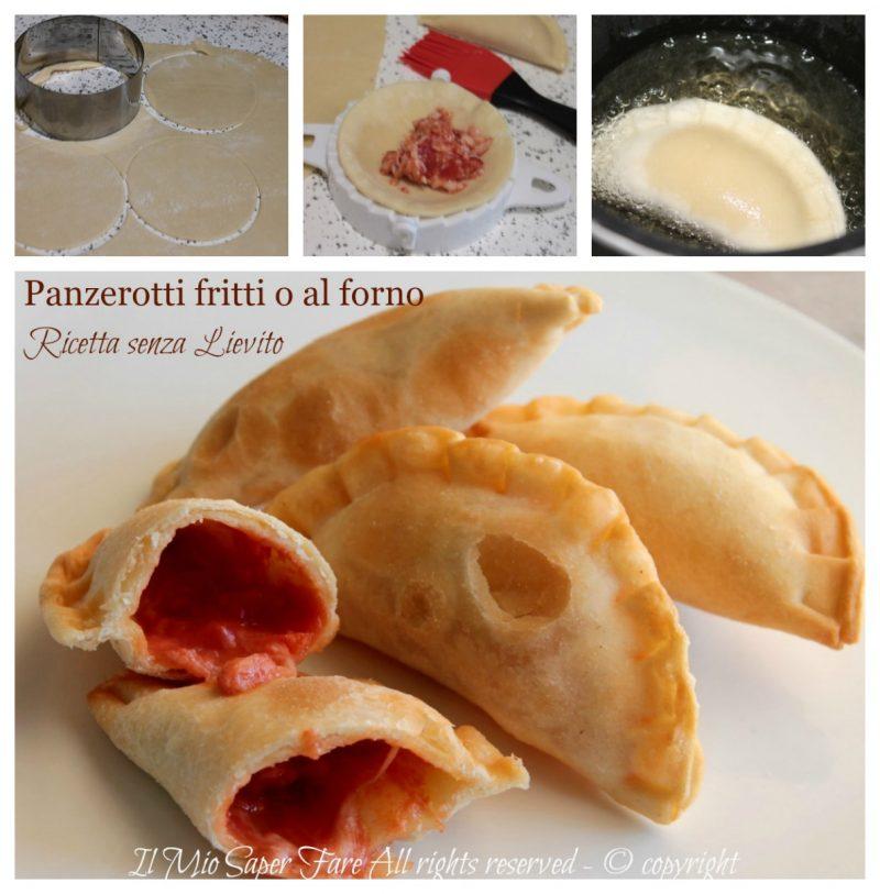 Panzerotti ricetta senza lievito croccanti e friabili