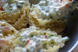Pasta zucchine e mascarpone | Nidi di reginette ripieni