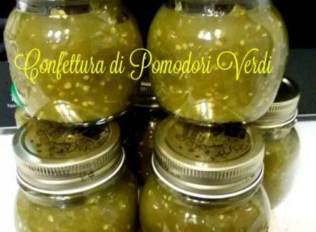 Confettura pomodori verdi marmellata insolita e golosa