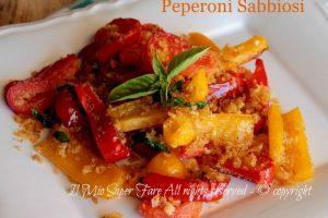 Peperoni sabbiosi croccanti e gustosi ricetta Il Mio Saper Fare