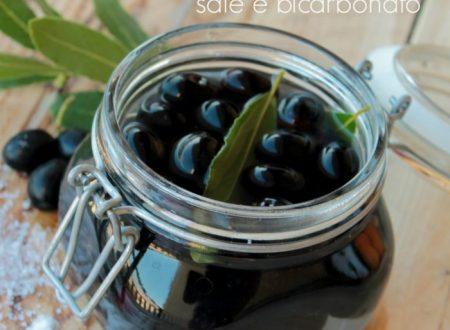 Come conservare le olive nere con bicarbonato e sale