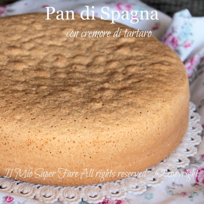 Pan di Spagna con cremore di tartaro e bicarbonato ricetta il mio saper fare