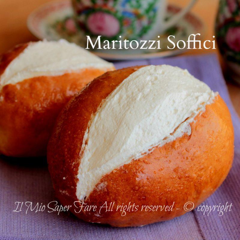 Maritozzi ricetta facile soffici e golosi farciti con panna for Dolce tipico romano